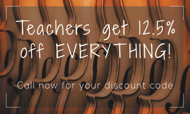 Teachers Discount