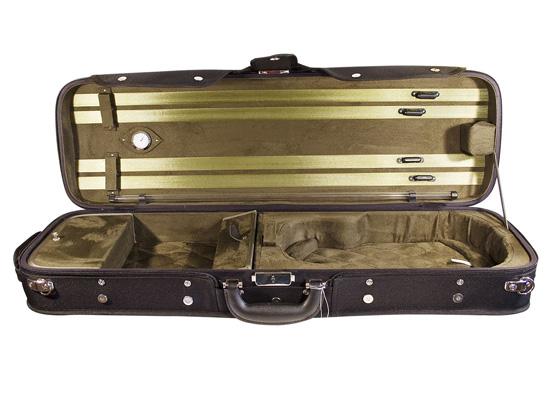 violin oblong wooden case